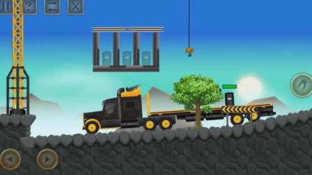 最新工程车挖掘机装载车汽车认识颜色 推土机290