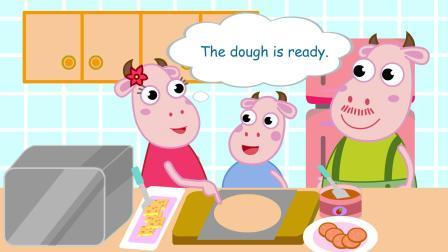 奇卡奇卡分级英语 做披萨 Making a pizza