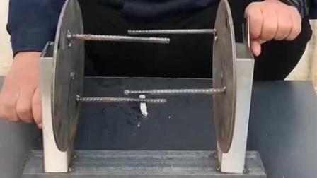 牛人发明:河南小伙发明的拉面神器,成本低效率高,可以申请专利了!