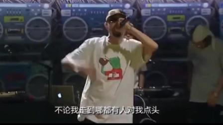 台湾饶舌歌手热狗说唱《贫民百万歌星》,现场DJ演绎嘻哈风格