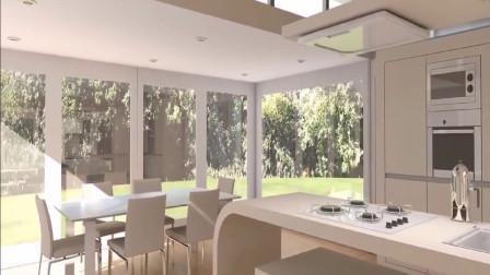 民间发明移动折叠式房屋,几万元就能住上小别墅,简单舒适有创意