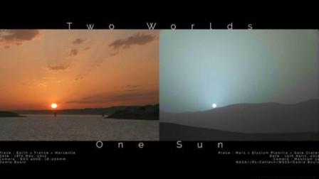 火星上也有日落吗?与地球上的日落有什么不同?我们一起来看看