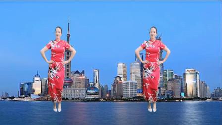经典舞曲《夜上海》32步旗袍广场舞