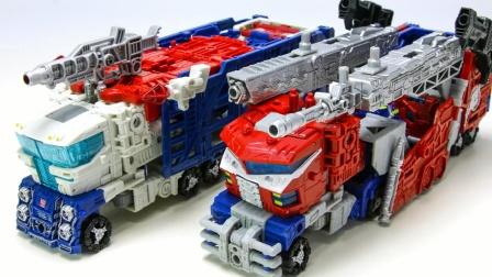 变形金刚 WFC SIEGE Leader Class Galaxy升级擎天柱 Ultra Magnus 卡车汽车机器人玩具