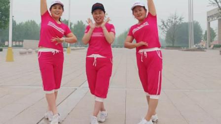 燕子青春姐妹广场舞步子舞《三月里的小雨正反面》32步附口令分解团队版