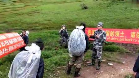中印边境,寸土不让,说中文不知道他们能不能听懂