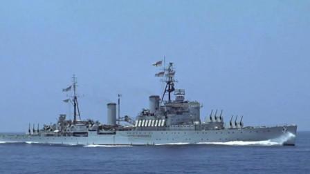 血拼大西洋,英国舰队围捕德国战舰,德国袖珍战列舰火力凶猛!