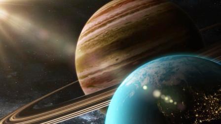 超巨型行星撞击地球,巨大力量撕毁全球,连地核都不剩!