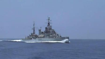 血拼大西洋,发现纳粹战列舰,英国皇家海军逢敌必战,直接开炮