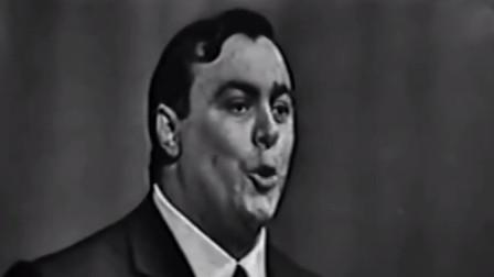高音传奇,1964年的帕瓦罗蒂,年轻帅气没胡子!