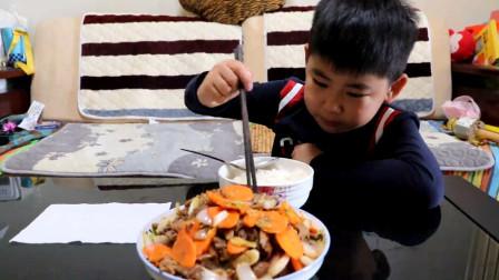 青岛正宗孜然羊肉的做法,儿子的最爱,实在是看馋了