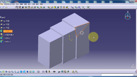 CATIA视频教程.CaTICs网络赛3D建模实例(3D08-H02)讲解(下).163