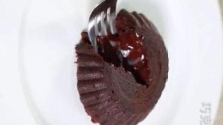 零失败的爆浆熔岩巧克力蛋糕做法,超级简单又好吃