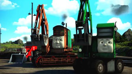 托马斯和他的朋友们 托马斯和詹姆士比赛结果怎么样?多多岛的漏斗隧道 陌上千雨解说