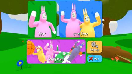 超级兔子人:运萝卜,熊孩子比糖糖运的萝卜还多