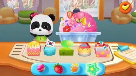 草莓冰淇淋球是妙妙的最爱哟!!宝宝巴士游戏