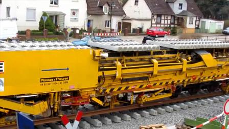 机械化修铁路,果然是品质好效率高,这就是现代速度