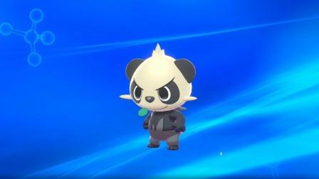 超能玩具白白侠 2017 精灵宝可梦剑盾游戏 顽皮熊猫进化啦