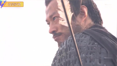刘邦围攻西楚霸王,把西楚霸王打败的场景