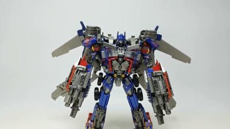 变形金刚电影3超大号擎天柱+ FWI-04 Jetwing擎天柱汽车机器人1