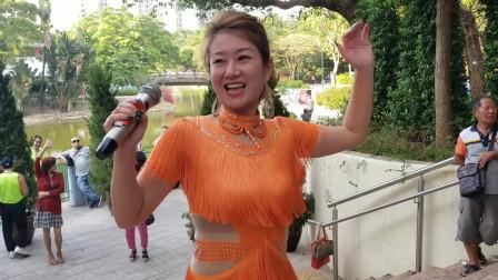 气质很重要,大公主心怡载歌载舞《公虾米》现场反响强烈