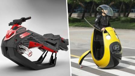 4种奇特的交通工具,造型千奇百怪,你看好哪一种?
