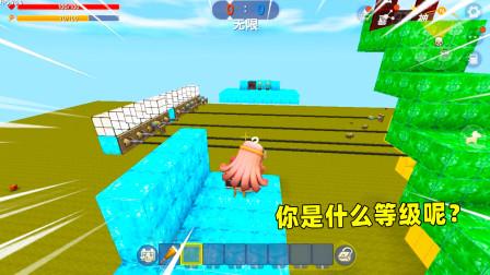 迷你世界:等级酷跑!果果从菜鸟跑到王者,你是什么等级呢?