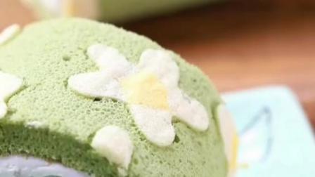 抹茶蛋糕卷怎么做?