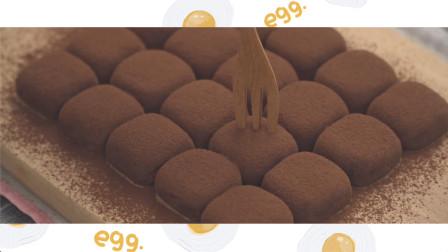 自制炼乳可可松露-炼乳巧克力松露