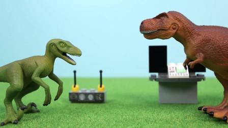 侏罗纪恐龙世界 霸王龙玩恐龙连连看 恐龙玩具世界