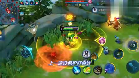 王者:扁鹊加蔡文姬超级回血,效果远超泉水!