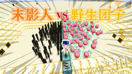 迷你世界糖糖解说:100个末影人VS100个野生团子,你们猜谁赢了
