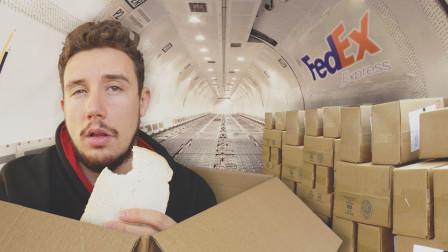 把自己装箱打包,从英国偷偷快递到美国会怎样?老外用行动告诉你