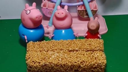 猪爸爸说这东西不能吃,猪妈妈和佩奇都不相信,乔治怎么就能吃了?