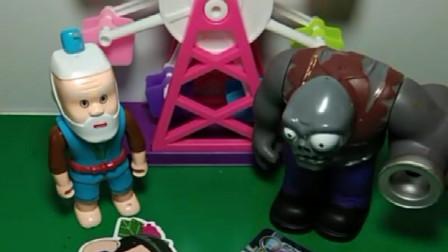 爷爷有很多葫芦娃卡片,僵尸有僵尸卡片,谁的更厉害?