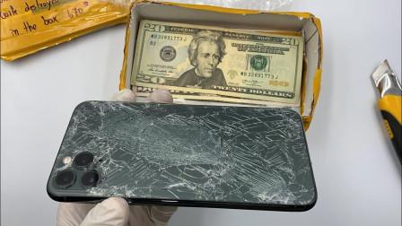 如何修复好破碎的iPhone11?牛人秀出绝学,成品让人称赞!
