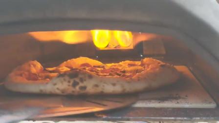 一分钟就出一个披萨,试用便携式的户外Pizza烤炉Ooni Karu