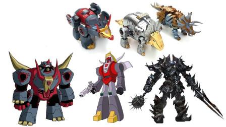 变形金刚G1动漫系列 火炭 铁渣 嚎叫 霸天虎机器人玩具