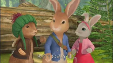比得兔:狐狸知道他们所有的藏身之处,比得他们要建个树屋藏身