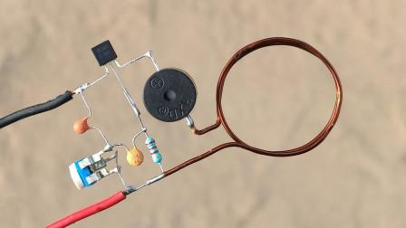 牛人自制的机电装置!你们有谁看得懂是什么原理
