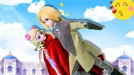 叶罗丽童话故事 灵公主偷跑出宫遇到抢劫 铁西王子帅气出场救她