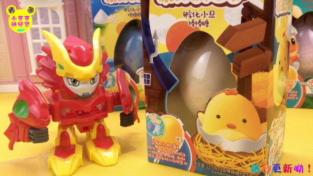 糖玩新世界孵化小蛋棒棒糖!激战奇轮玩DIY手工玩具