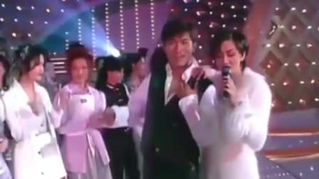 梅艳芳与刘德华深情演唱,两位才子佳人,张学友看了都羡慕