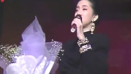 梅艳芳深情献唱《再回首》,原来粤语版本这么好听!
