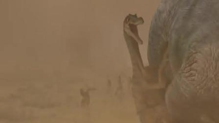 恐龙:艾力达和猴子一家遇到了恐龙大迁徙,真壮观