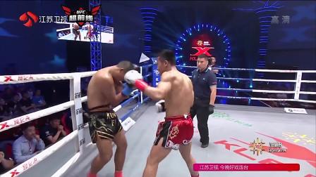 """中国少数民族少年,一个顶膝就KO了对手,来一个""""杀一个""""!"""