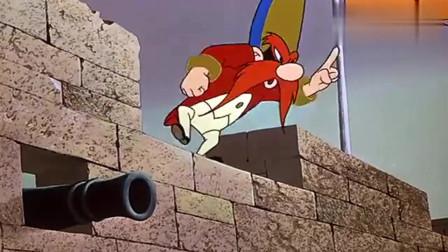 搞笑兔八哥:兔八哥被佣兵挑衅,表明自己立场