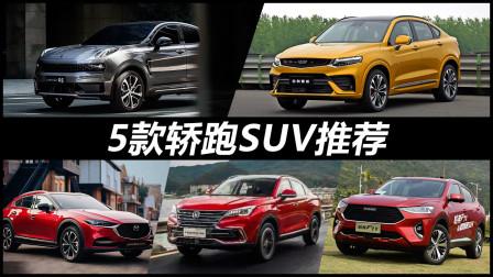 预算15-20万元买轿跑SUV,这5款车型值得推荐,领克05领衔!-智选车