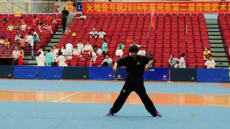 惠州市双节棍群英会—杜柯 ,六年前的这套棍法怎样