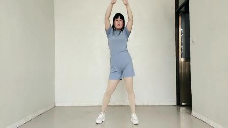 健身操版《蚣虾米》每天跳一跳,活舒筋骨气色好